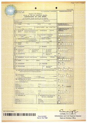 Fast marriage certificate