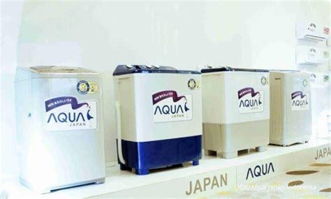Mesin Cuci Aqua Japan Dua Drum aqua japan lipatgandakan pangsa pasar pada 2018