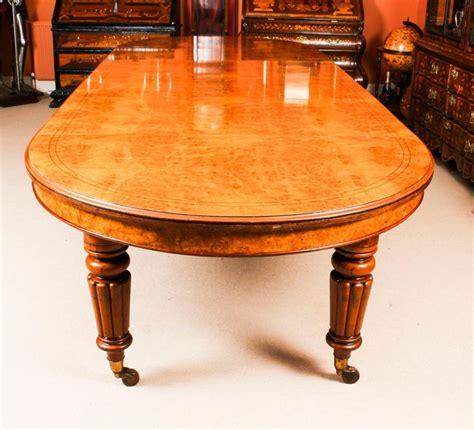 antique victorian pollard oak extending dining table