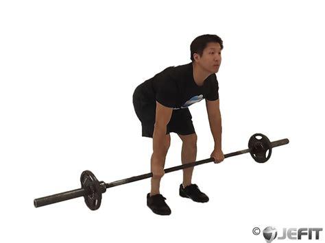 bench barbell row barbell deadlift exercise database jefit best
