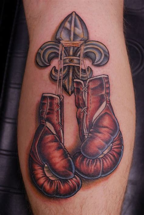 cross with boxing gloves tattoo collection of 25 boxing gloves pair tattoos