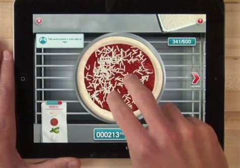 domino pizza app dominos ipad app lets you make and then order your