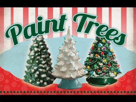 color me mine wayne paint trees
