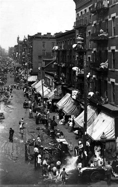 Hester Street, New York, 1901 | History | Pinterest | New