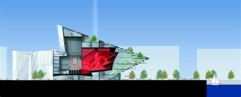 Floor Plan Theater by Gallery Of Grand Canal Theatre Daniel Libeskind 17