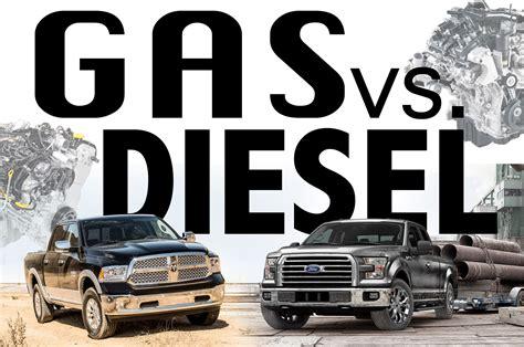 the diesel diesel truck vs gas truck autos post