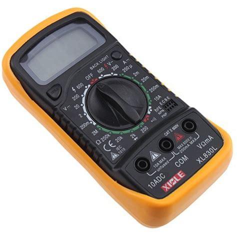 Ohm Meter Digital Topone Lcd Digital Ohm Volt Meter Ac Dc Voltmeter