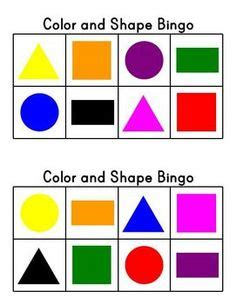 2d printable coloured shapes shapes is important for children it helps a child get