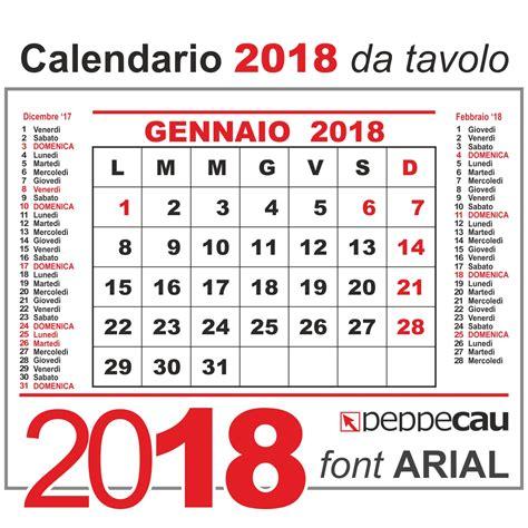 Calendario 2018 Febbraio Calendario 2018 Mensile Da Tavolo Calendario 2019 Mensile