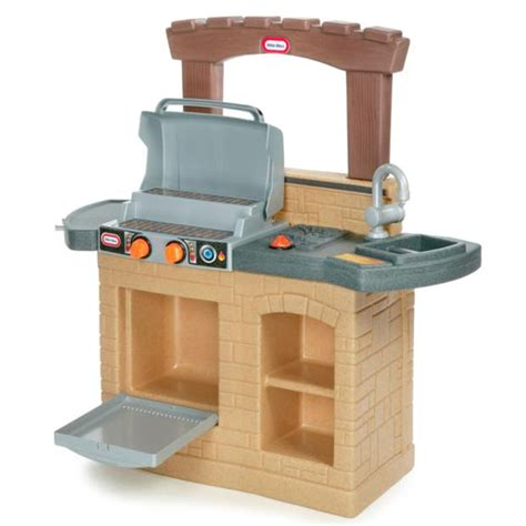 little tikes backyard barbecue little tikes cook n play outdoor bbq play kitchen buy