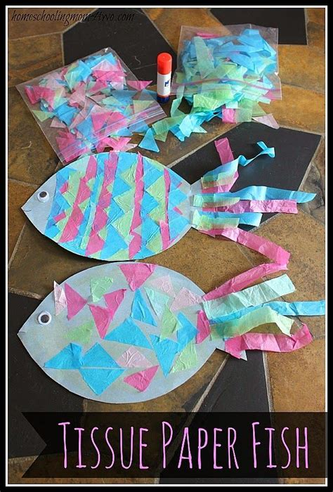 And Craft With Tissue Paper - best 25 fish crafts ideas on fish crafts