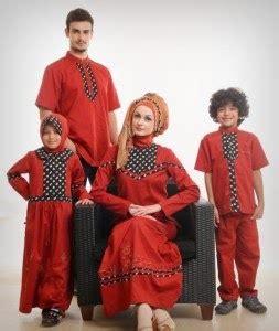 Baju Muslim Ibu Anak Dan Ayah 10 Baju Muslim Ayah Ibu Dan Anak Terbaru