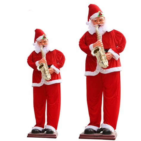 Snowflake Wall Stickers buy huge 72 life size singing amp dancing santa claus with