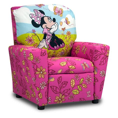 Toddler Recliners by Disney Minnie Mouse Cuddly Cuties Recliner