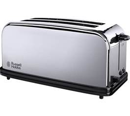 Small Stainless Steel Toaster Buy Hobbs Classic 23520 4 Slice Toaster