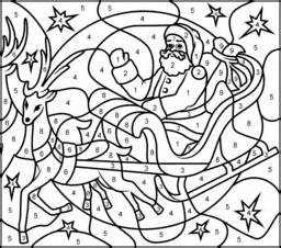 Christmas hard colouring pages