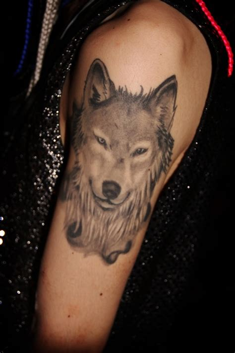 feminine wolf tattoo small 3d eye half sleeve photography designs