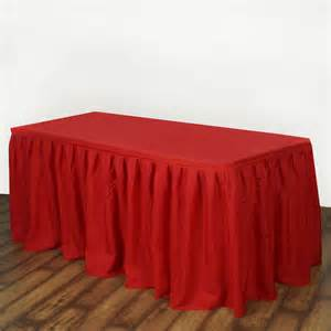 Cheap Table Linens Wholesale - 17 feet x 29 quot polyester banquet table skirt wedding party linens wholesale ebay