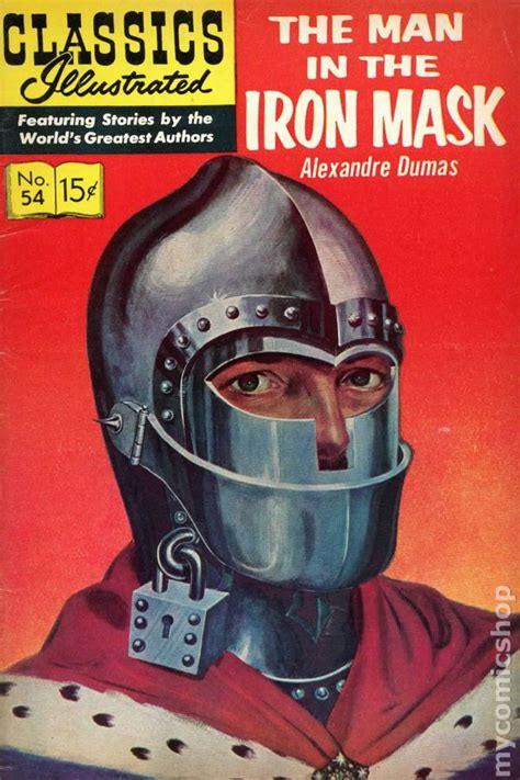 the iron man illustrated classics illustrated 054 man in the iron mask comic books