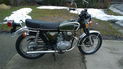 1973 honda cb350 cb 350 original low mileage motorcycle
