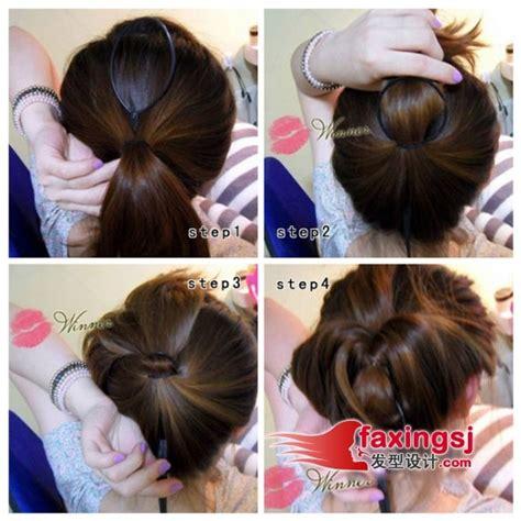 tutorial ikatan rambut simple 中短发怎么扎好看 中短发发型扎法 6 发型师姐