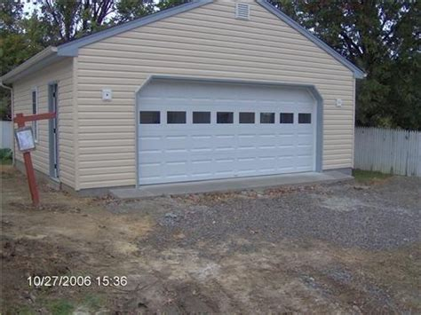 24x24 Two Car Garage With Lean To In Millersville Md | garages 24 x 24