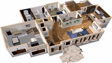 3d house interior design software free