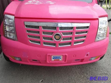 pink cadillac escalade power wheels fisher price power wheels pink cadillac escalade without