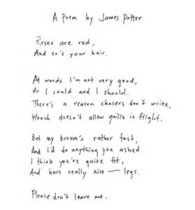 harry potter poem harry potter poemthinkers