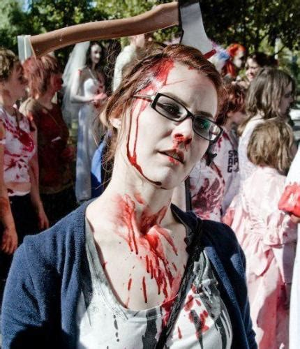 imagenes de halloween zombies disfraz casero de zombie