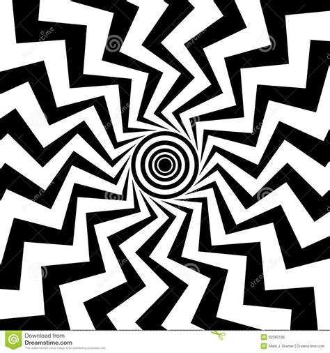 Zigzag Pattern In Left Eye | zigzag bull s eye royalty free stock photo image 32380195