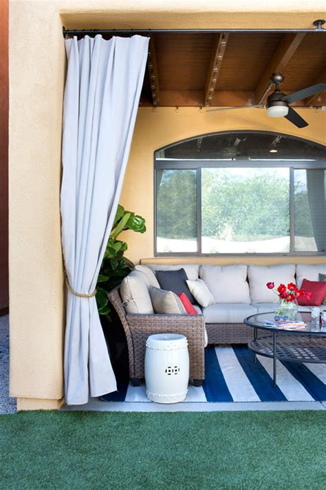 how to make outdoor curtains outdoor decor 13 amazing curtain ideas for porch and