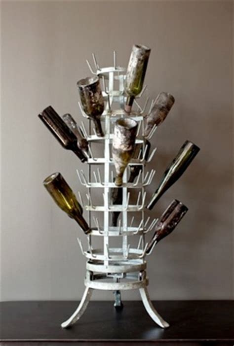 Diy Bottle Drying Rack by Wine Bottle Drying Rack Outdoor Spaces