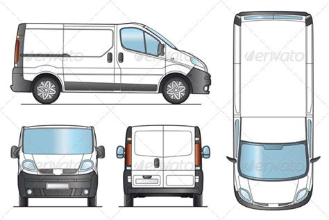 van layout vector trafic clipart clipart suggest