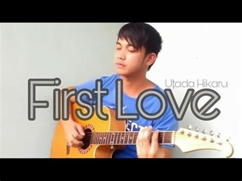 fingerstyle cover tutorial tutorial first love guitar fingerstyle cover utada