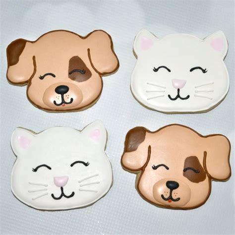 puppy cookies cat cookies animal cookies cat cookies cookie decorating and