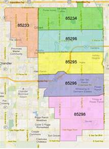 gilbert arizona zip code map gilbert az zipcode map az real estate 480 721 6253