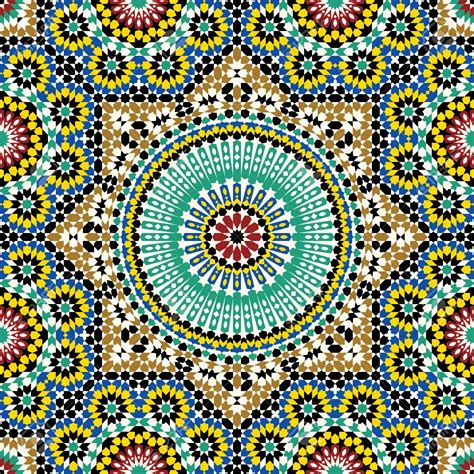 designs free moroccan design patterns cement patio inspiring