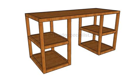 desk woodworking plans howtospecialist   build