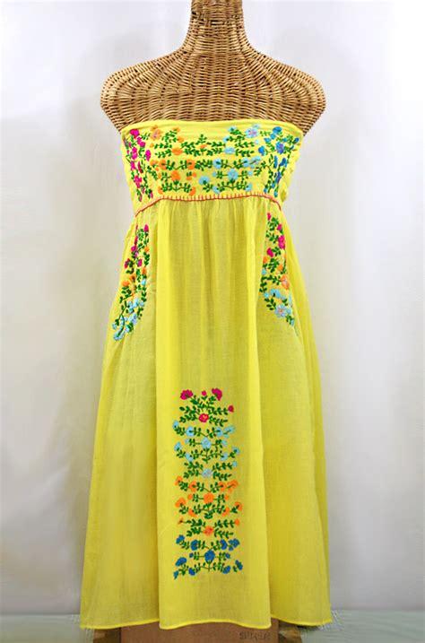 Marbella Maxi Dress Maroon quot la antigua quot mexican embroidered peasant dress fuchsia
