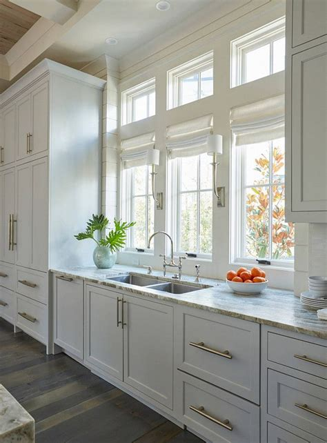 light gray kitchen cabinets  adorned  extra