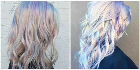 Holographic Hair is The Latest 2017 Hair Trend   2017 Hair