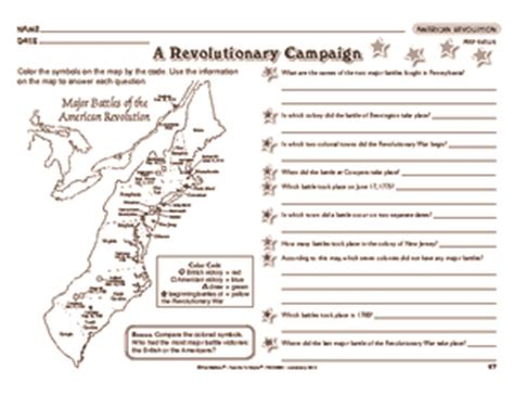 america independence movements worksheet worksheet american revolution 4th grade social studies american revolution