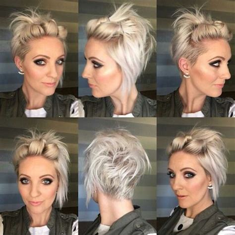 ways to style short hair for women over 50 51 easy updos for short hair to do yourself