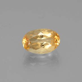 8 05ct Imperial Golden Topaz 1 1 carat oval 7 4x4 8 mm and untreated imperial