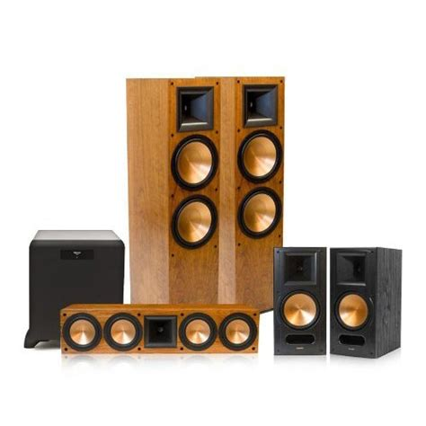 review klipsch rf 7 ii reference series 5 1 home