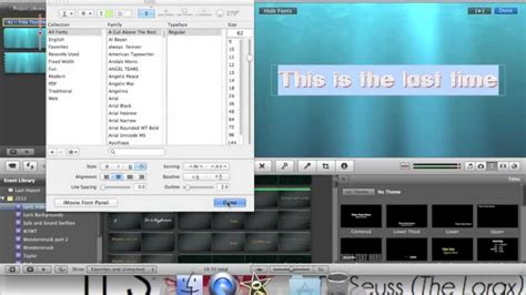 tutorial imovie 10 0 8 imovie tutorial text effects youtube