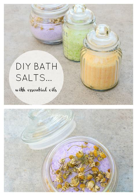 Handmade Bath Salts - these 23 bath salts will make tub time