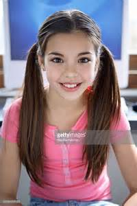 girl model 13yo girl in front of computer stock photo getty images