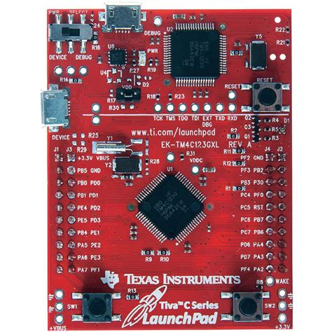 pcb design guidelines texas instruments pcb design board texas instruments ek tm4c123gxl from